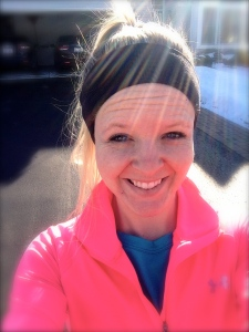 Obligatory first outdoor run selfie. I'm even squinting from the sun. Glorious.
